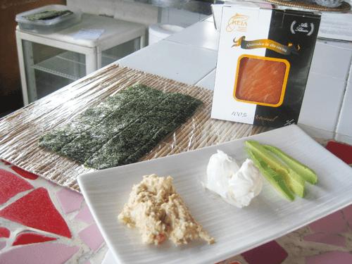 Ingredientes para Sushi