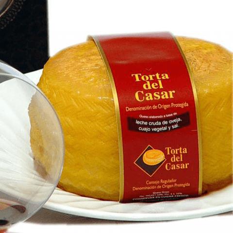 Fromage de brebis Torta del Casar Fleur de la Dehesa 600 grs