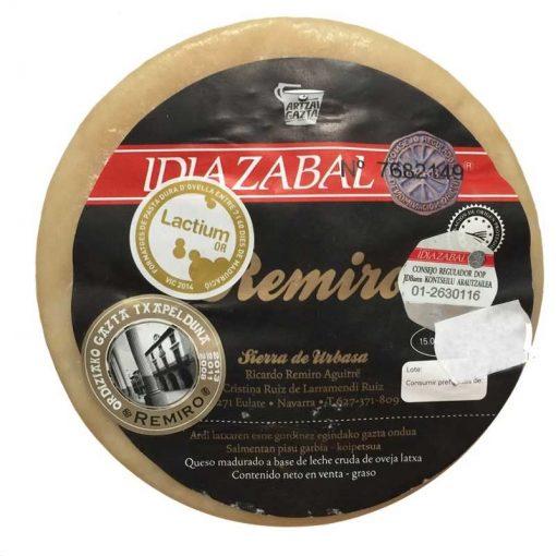 Fromage Idiazabal Remiro Artzai Gatza