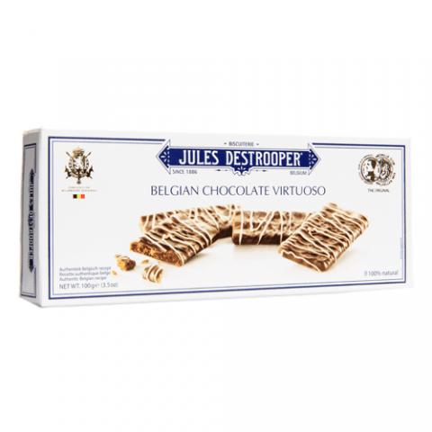 Cinnamon Cookies with Belgian Chocolate Jules Destrooper