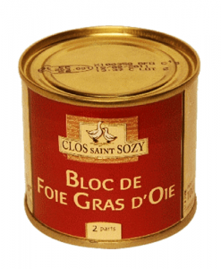 Bloc of Goose Foie Gras Clos Saint Sozy