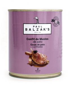 Confit de pato Paul Balzaks
