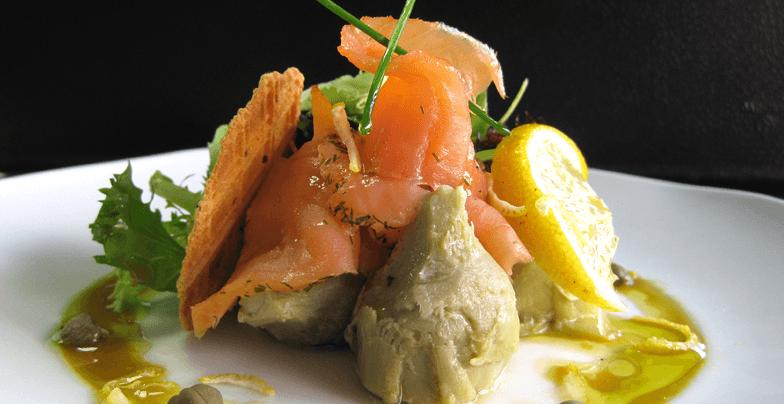 Dietas con salmón ahumado