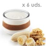Yogur ecológico de Plátano y Galleta Pastoret