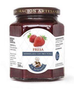 Mermelada sin azúcar fresa La Artesana