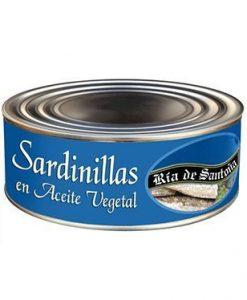 Comprar Sardinillas en conserva Ría de Santoña 900 gramos
