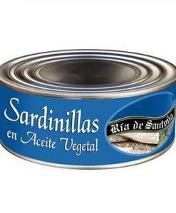 Sardinillas en conserva Ría de Santoña