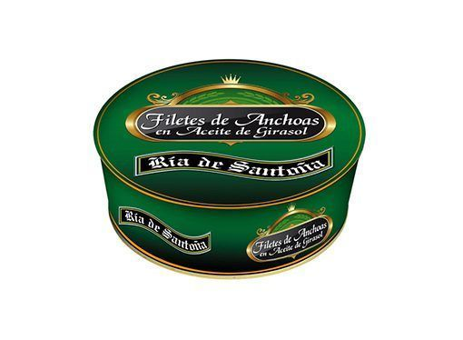 Comprar anchoas en aceite Ría de Santoña 1 kilo