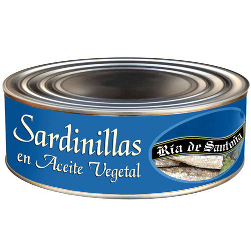 Sardines in preserve Ría de Santoña 900 grs.
