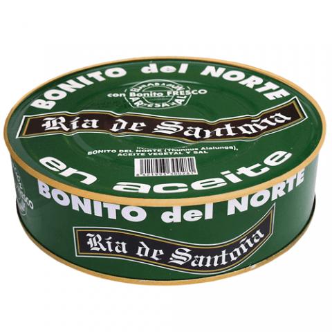 White tuna in oil 1850 grs. Ria de Santoña