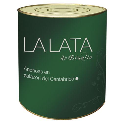 Anchois au sel La Lata de Braulio