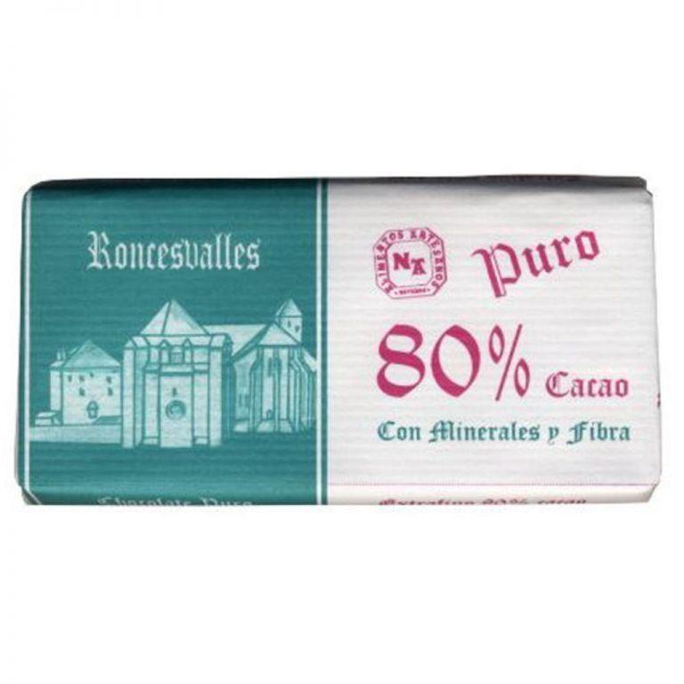 Chocolate Subiza artesano puro 80%