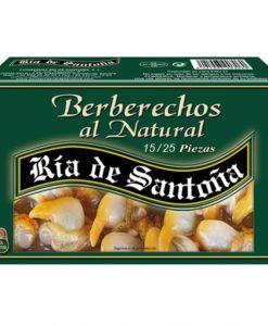 berberechos al natural 15-25 ría de santoña