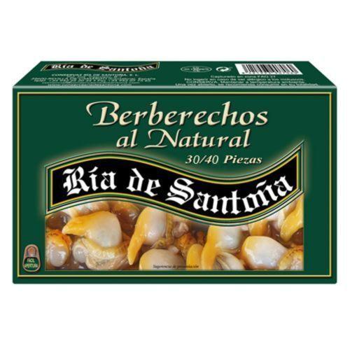 Cockles in brine 30-40 Ria de Santoña
