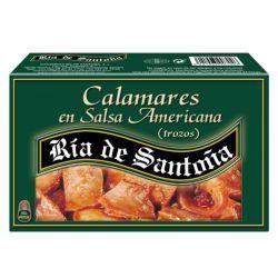 Squids in American sauce Ría de Santoña