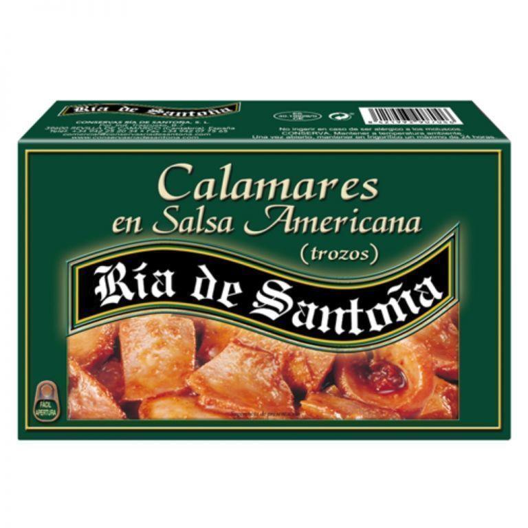 Calamars à la sauce américaine Ría de Santoña