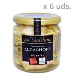 corazones de alcachofa de tudela la tudelana pack 6 uds