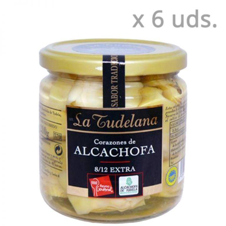 Coeur d'artichaut en conserve (Boîte de 6 unités)