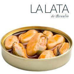 Mussels in pickled gherkins 6-8 La Lata de Braulio