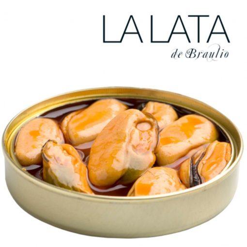 Comprar mejillones gigantes en escabeche La Lata de Braulio