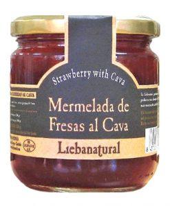 Confiture de fraises au cava Liebanatural