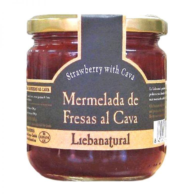 Strawberry Jam with Cava