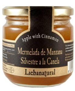 Confiture de pommes et de cannelle Liebanatural