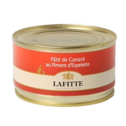 Paté de canard au piment d'Espelette Lafitte