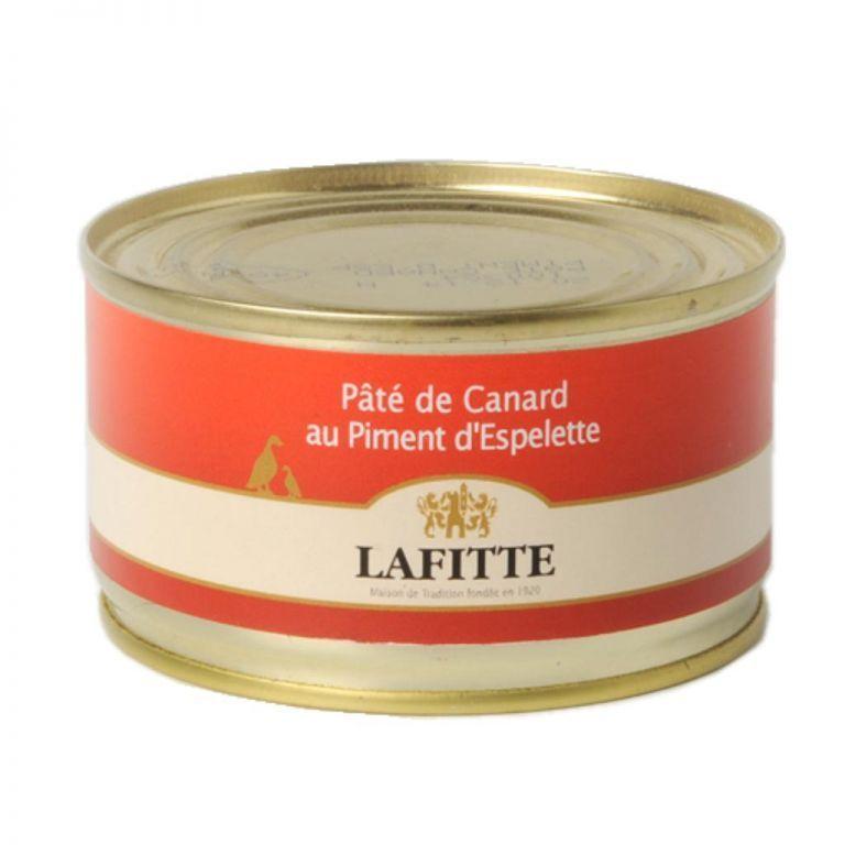 Foie gras pate with Espelette lafitte 130