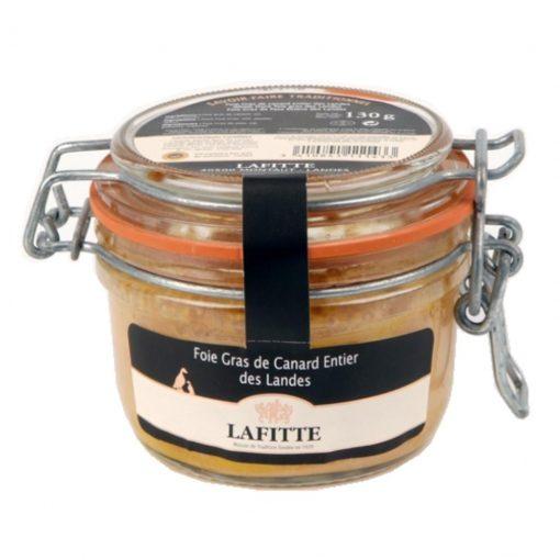 Comprar Foie gras de pato Lafitte entero tarro