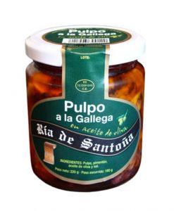 Comprar pulpo a la gallega Ría de Santoña