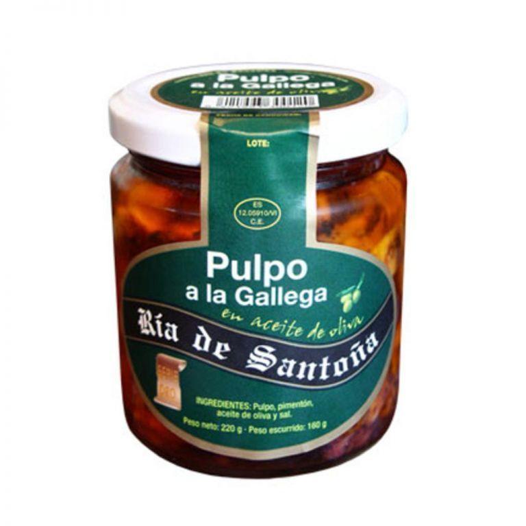 Poulpe à la galicienne Ría de Santoña