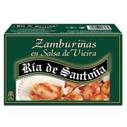 Zamburiñas in scallop sauce Ría de Santoña