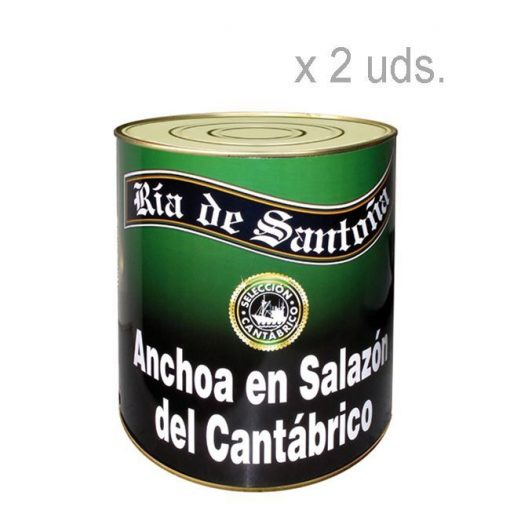 Anchoas-en-salazón-Ría-de-Santoña 2 unidades