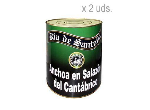 Comprar anchoas en salazón ría de santoña