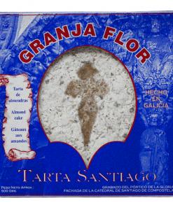 Tarta de Santiago Granja Flor