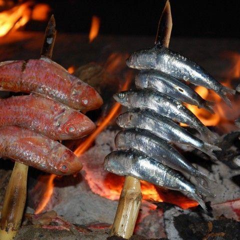 Smoked sardine fillets