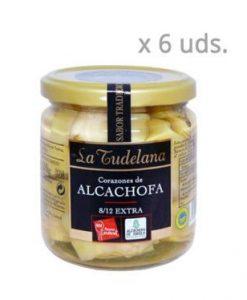 Comprar Corazones de alcachofa de Tudela Pack 6