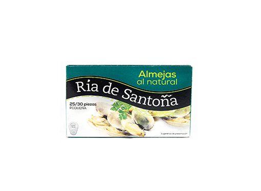 Almejas al natural 20-25 Ría de Santoña