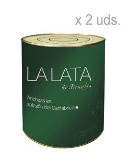 Anchoas-en-salazón- La lata de braulio 2 unidades