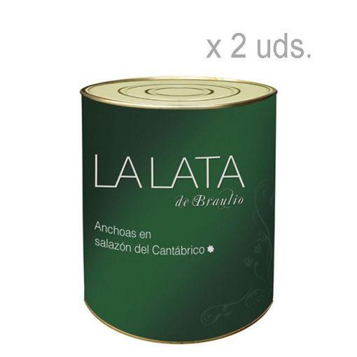 Comprar Anchoas en salazón La Lata de Braulio