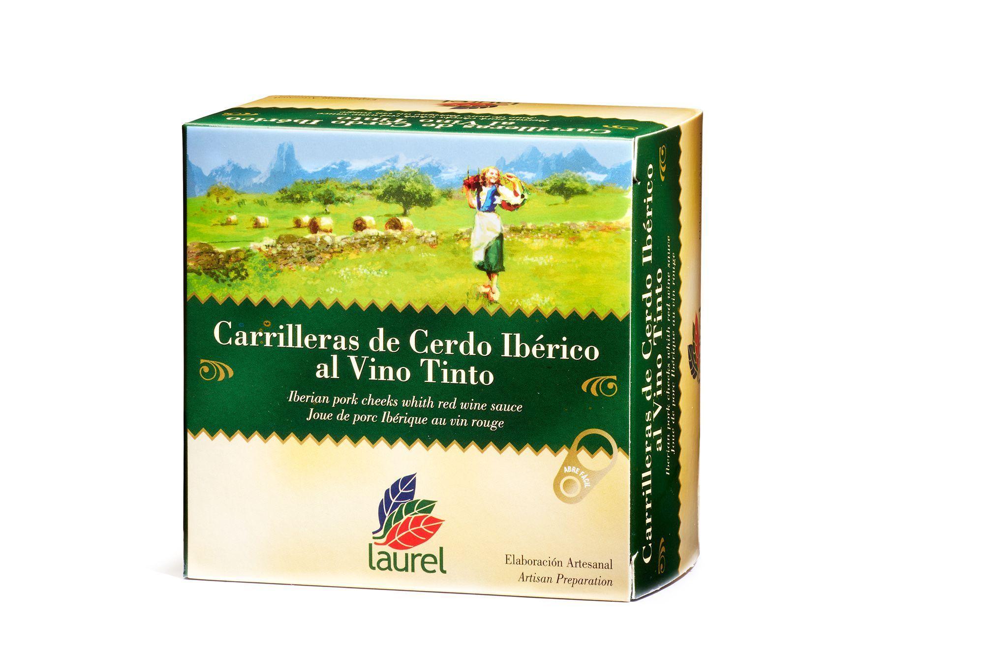 Comprar Carrilleras de cerdo Ibérico al vino tinto
