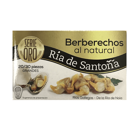 Comprar Berberechos al natural 20-30 Ría de Santoña