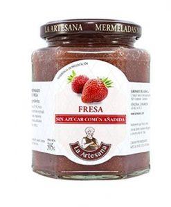 Mermelada sin azúcar añadido de fresa La Artesana