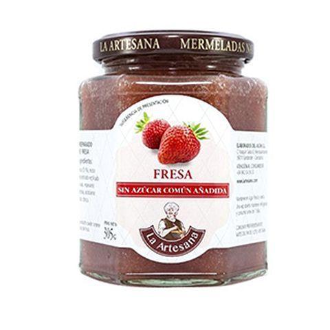 fresa sin azucar comun
