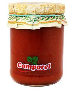 Salsa de tomate hecha en sartén Camporel