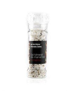 Comprar Molinillo de sal de manantial con pimienta Sal de Añana