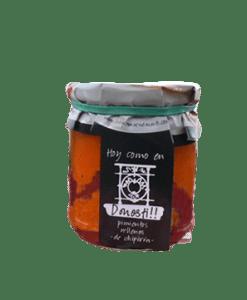 Pimientos rellenos de chipirones