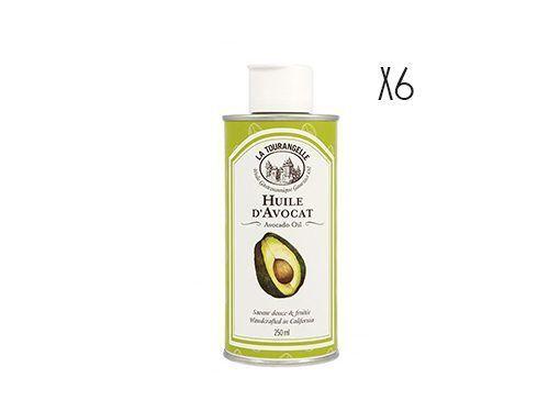 Aceite de aguacate La Tourangelle 6 botellas de 25 cl.