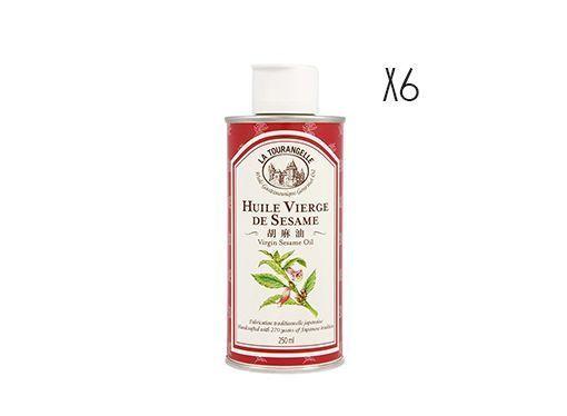 Aceite virgen de sésamo La Tourangelle 6 botellas de 25 cl.